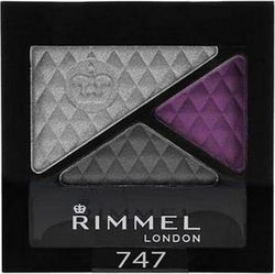 Rimmel Glam Eyes Quad Eye Shadow 747 Dark Angel