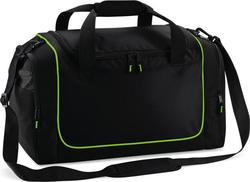 Quadra QS77 Teamwear Locker Bag Black / Lime Green 30lt