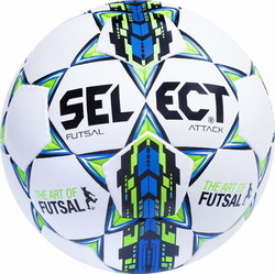 Select Sport Futsal Attack No 4 Blue - Green 10580