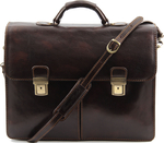 Tuscany Leather Bolgheri TL141144 Dark Brown