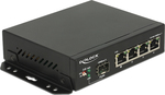 DeLock Gigabit Ethernet Switch 4 Port + 1 SFP