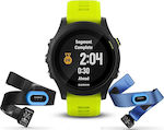 Garmin Forerunner 935 Tri-bundle (Black with Yellow Straps)