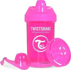 Twistshake Crawler Cup Pink 300ml
