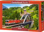 Train on the Bridge 500pcs (B-52462) Castorland