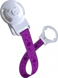 Twistshake Pacifier Clip Purple