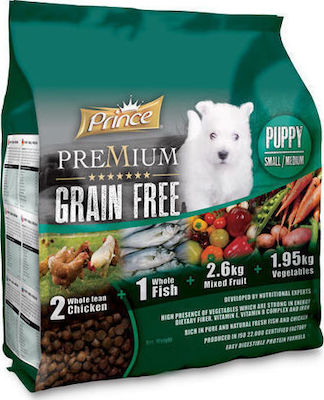 Prince Grain Free Puppy Small Medium 12kg