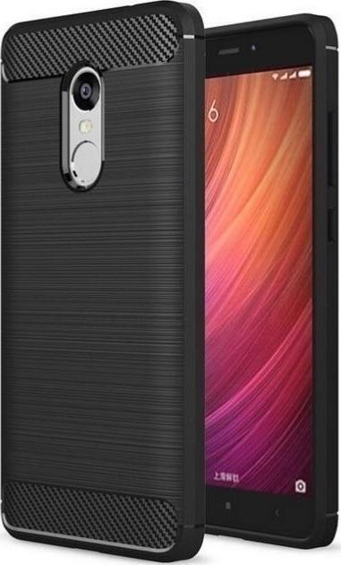 Carbon TPU Armor Μαύρο (Xiaomi Redmi Note 4x)