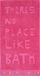 Nef-Nef Πετσέτα Σώματος There's No Place Like Bath Fuchsia 70x140