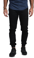 Publish JAIRO TWILL FIT PANT P1601085 - Black