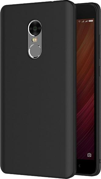 the best attitude bdec2 88fcb Jelly Case Back Cover Σιλικόνης Μαύρο (Xiaomi Redmi Note 4)
