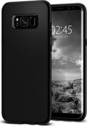 Spigen Liquid Air Armor Back Cover Μαύρο (Galaxy S8)