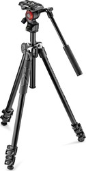 Manfrotto 290 Light Aluminium MK290LTA3-V Τρίποδο - Βίντεο