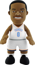 RUSSELL WESTBROOK 10 PLUSH DOLL ΚΑΦΕ (PLUS-NBAP-10-THU-RWE2)-BLEACHER CREATURES