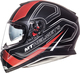 MT Thunder 3 SV Trace Matt Black-Red