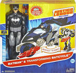 Mattel Batman and Batcycle