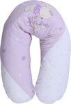 Lorelli Bertoni Breast Pillow 190 cm - Bunnies with Strollers Violet