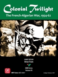 GMT Games Colonial Twilight: The French-Algerian War, 1954-62