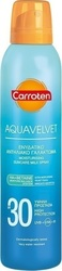 Carroten Aquavelvet Moisturising Suncare Milk Spray SPF30 200ml