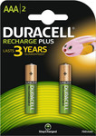 Duracell Recharge Plus AAA 750mAh (2τμχ)