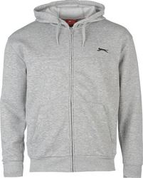Slazenger Full Zip Hoody 532013 Grey Marl