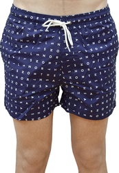 NORTH SAILS SWIM TRUNK VOLLEY ALL OVER COMBO BLUE