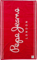 Pepe Jeans Πετσέτα Θαλάσσης 100x170 Mar Towel Red