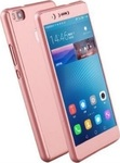 OEM 360 Full Cover Pink & Tempered Glass (Huawei P8 Lite)