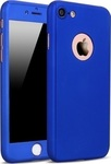 OEM 360 Full Cover Blue & Tempered Glass (iPhone 5/5s/SE)