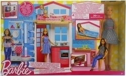 Mattel Two Story House and Doll Set