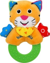 BabyMix Plush Rattle Tiger
