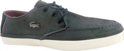 LACOSTE SEVRIN LEATHER 7-28SRM0003120 GREY ΑΝΘΡΑΚΙ