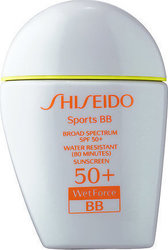 Shiseido Sports BB Broad Spectrum Wetforce Medium SPF50+ 30ml