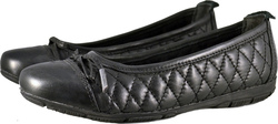 Μπαλαρίνα Marco Tozzi 22141-23 Premium Leather Black