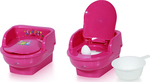 Lorelli Bertoni Chamber Pot Throne Fuchsia 1013045