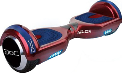 "Nilox Doc 2 Hoverboard Red 6.5"" 30NXBK65BT005"