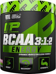 Musclepharm Bcaa Energy 3:1:2 270gr Blue Raspberry