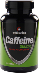 Warrior Lab Caffeine 200mg 120 κάψουλες