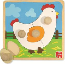 Shaped Chicken Peg 4pcs (D53066) Goula