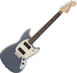 Fender Mexican Offset Mustang 90 in Silver
