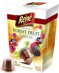 Cafe Rene Nespresso Forest Fruit Garden Tea 10caps