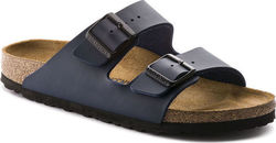 Birkenstock Arizona Birko-Flor Blue Narrow Fit
