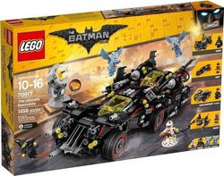 Lego The Batman Movie: Ultimate Batmobile 70917