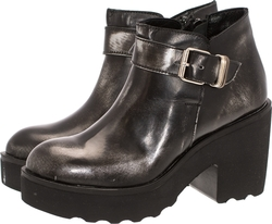Bueno Shoes F1901 Black Leather