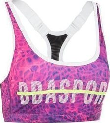 Body Action Racerback Yoga Bra 041738 Fuchsia
