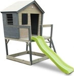 Exit Toys Aksent Wooden Playhouse