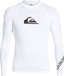 RASHGUARD QUIKSILVER All Time Long Sleeve Rash Tank UPF 50 White