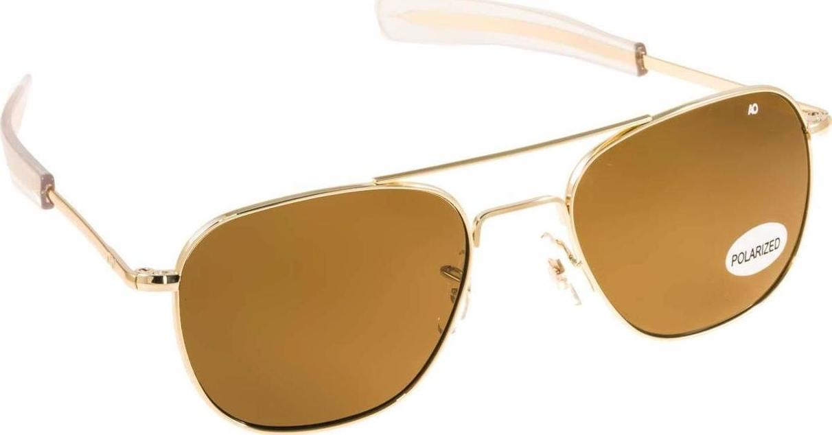 3a05fa1c62 American Optical Original Pilot Gold Brown Crystal Polarized