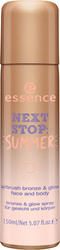 Essence Next Stop Summer Airbrush Bronze & Glow Face and Body 01 Here Comes The Sun SPF 150ml