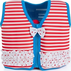 Konfidence Swim Jacket Pinup Stripes