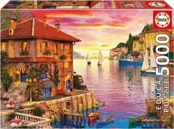 The Mediterranean Harbour, Dominic Davison 5000pcs (17135) Educa